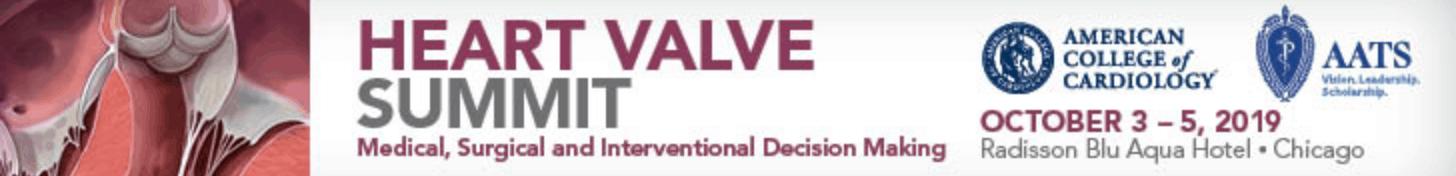 Heart Valve Summit 2019